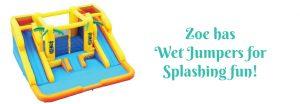 Blast-Zone Zoe's Fun Jumpers, Escondido, California