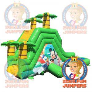 Mickey Mouse Slide | Zoe's Jolly Jumpers, Escondido, California