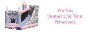 Princess Jumper | Zoe's Fun Jumpers, Escondido, California