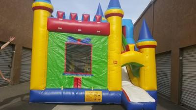 Castle Combo Dry Jumper | Zoe's Fun Jumpers, Escondido, California