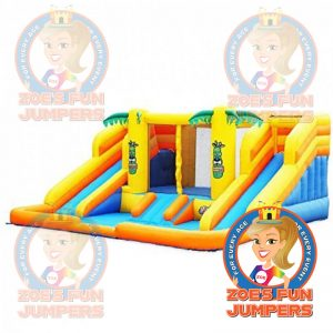Tropical Slide Toddler /Youth Jumper | Zoe's Fun Jumpers, Escondido, California