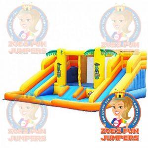 Tropical Slide Toddler /Youth Jumper | Zoe's Fun Jumpers, Escondido, California