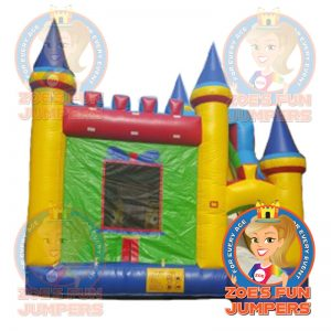 Castle Combo Dry Jumper | Zoe's Fun Jumpers, Escondido, California