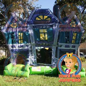 Halloween Haunted House Dry Jumper | Zoe's Fun Jumpers, Escondido, California