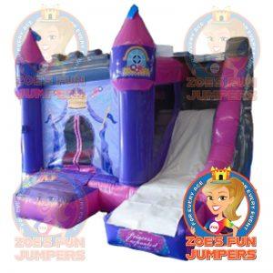 Large Princess Castle Dry Jumper | Zoe's Fun Jumpers, Escondido, California