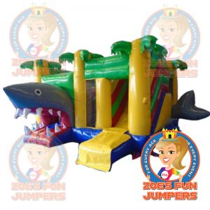 Shark Slide Dry Jumper | Zoe's Fun Jumpers, Escondido, California
