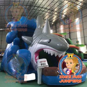 Shark Attack Wet/Dry Jumper | Zoe's Fun Jumpers, Escondido, California