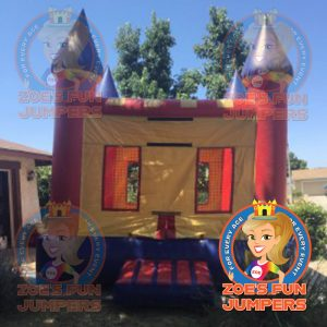 Small Castle Dry Jumper | Zoe's Fun Jumpers, Escondido, California