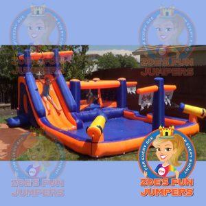 Pirate Ship Toddler/Youth Jumper | Zoe's Fun Jumpers, Escondido, California