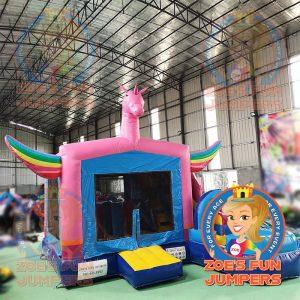 Unicorn Wet/Dry Jumper | Zoe's Fun Jumpers, Escondido, California