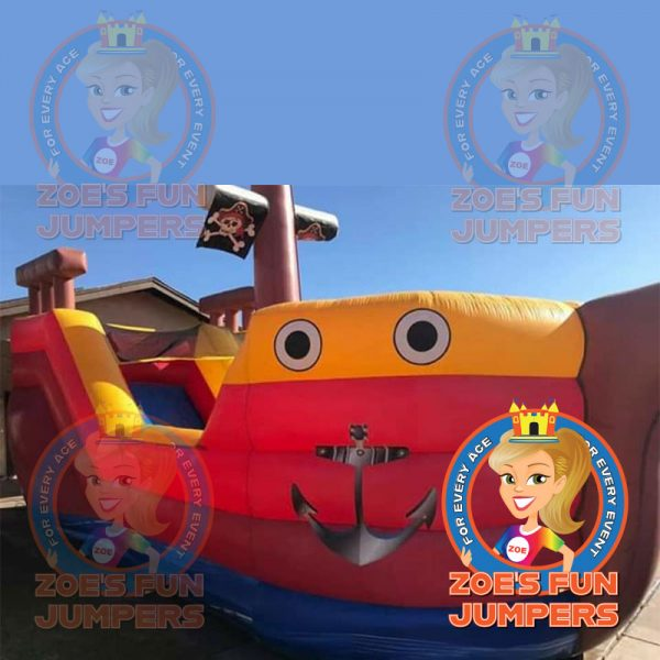 Pirate Ship Dry Jumper | Zoe's Fun Jumpers, Escondido, California