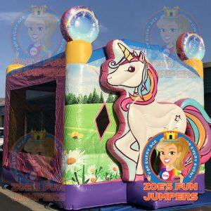 Unicorn Dry Jumper | Zoe's Fun Jumpers, Escondido, California