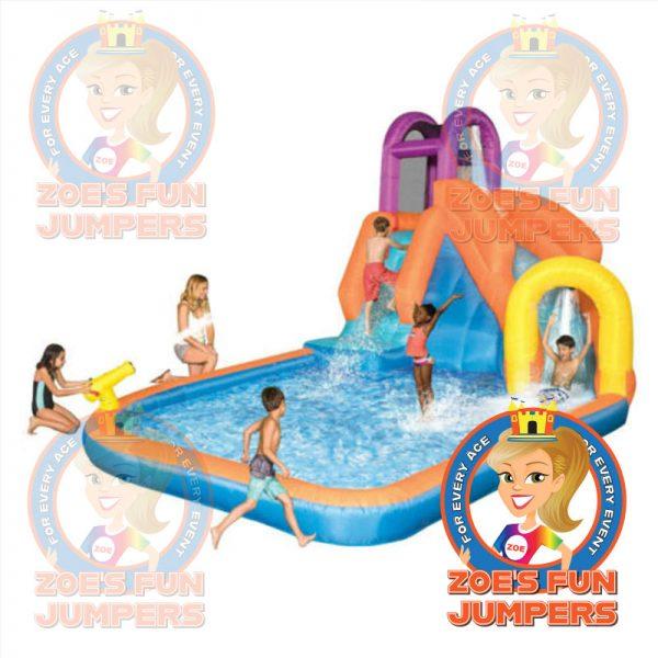 Tornado Twister Toddler Waterslide Jumper, Zoe's Fun Jumpers, Escondido, California