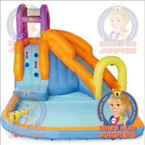 Tornado Twister Toddler Waterslide Jumper, Zoe's Fun Jumpers, Escondido, California