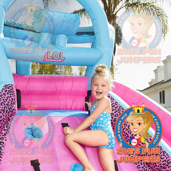 LOL Surprise Pink Toddler Waterslide Jumper. | Zoe's Fun Jumpers, Escondido, CA