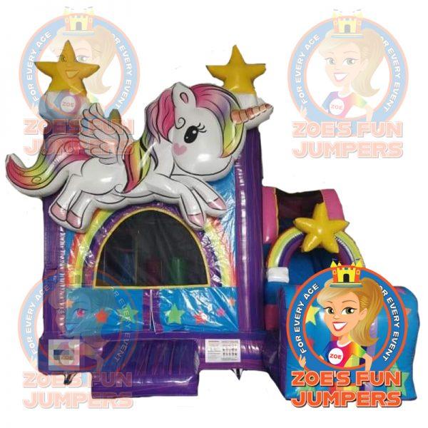Unicorn Wet/Dry Jumper | Zoe's Fun Jumpers, Escondido, CA