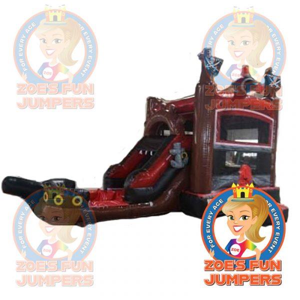 Blackbeard's Pirate Ship Wet/Dry Jumper    Zoe's Fun Jumpers